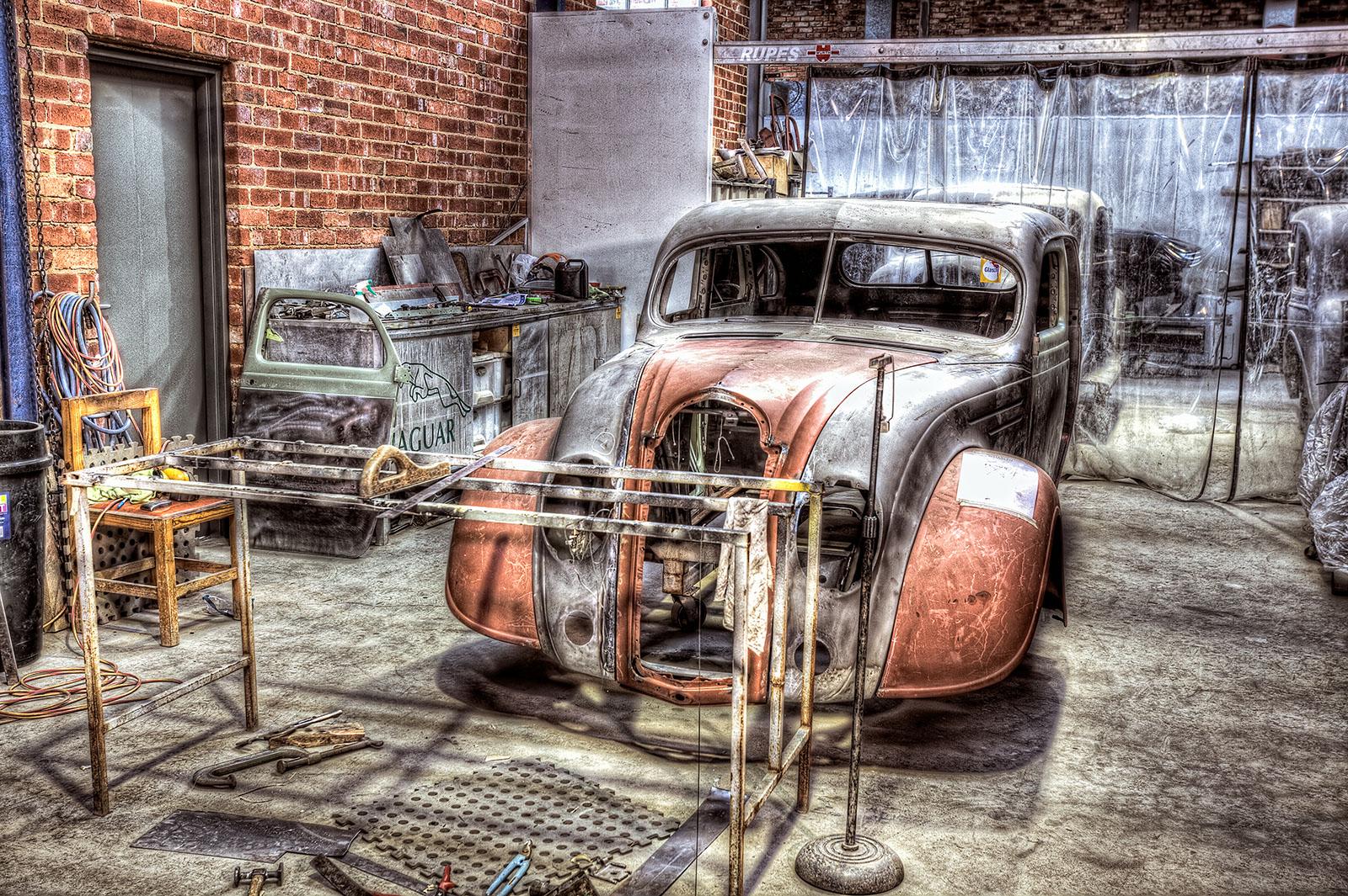 1935 DeSoto Airflow bodywork